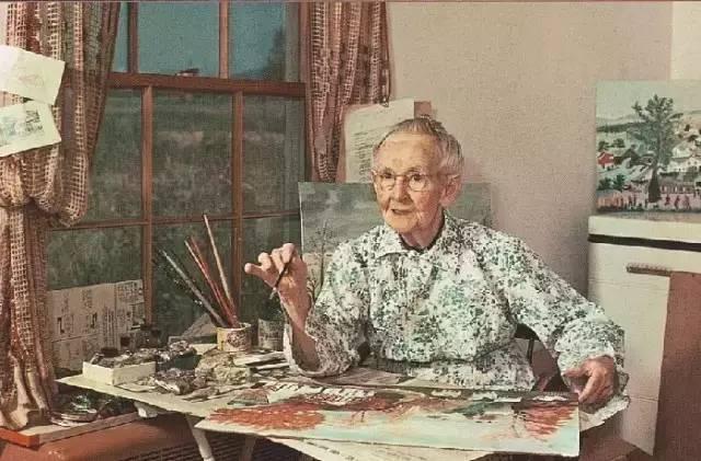"""艺术  她用一生证明,人生永远没有太晚的开始"""""""