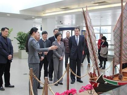 """上海浦东机场设立国内首个固定场地的机场艺术馆"""""""
