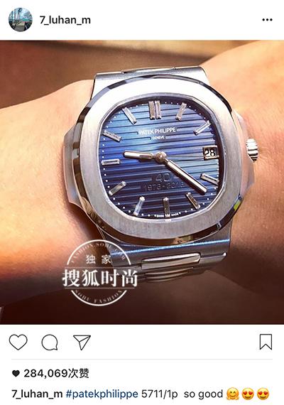 鹿晗重金买表还晒朋友圈,90后富豪都是这样花钱的