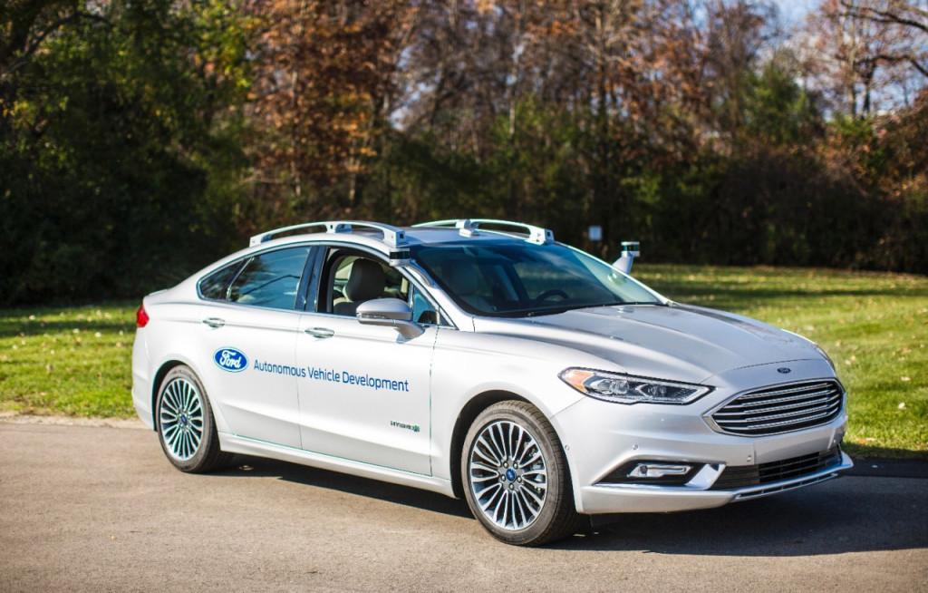 """福特新一代自动驾驶试验车型全面升级:计算能力更强"""""""