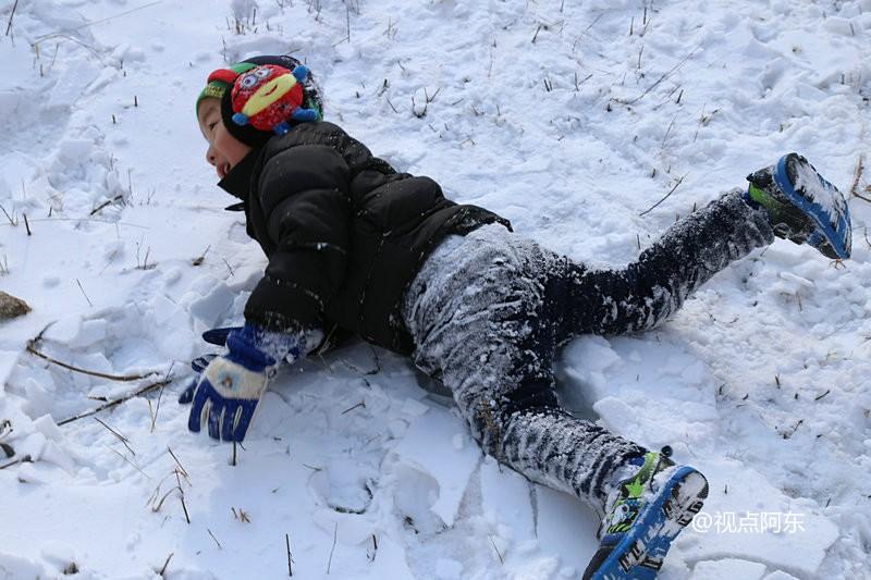 沣峪高山滑雪:远离雾霾的生活竟如此美妙(组图) - 视点阿东 - 视点阿东