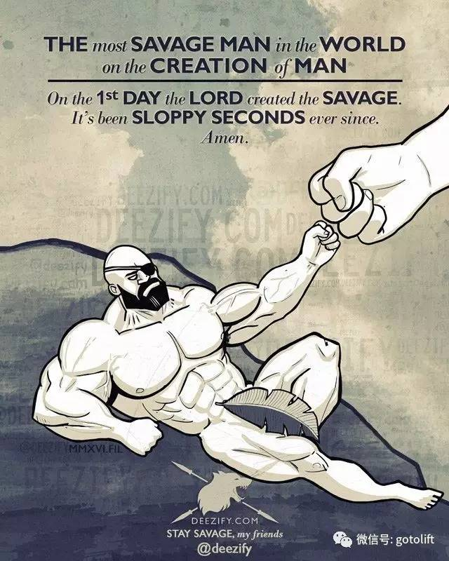 撸师傅狠狠�i+�_健身老司机的漫画版训练图谱, 点燃了所有人撸铁的欲望!