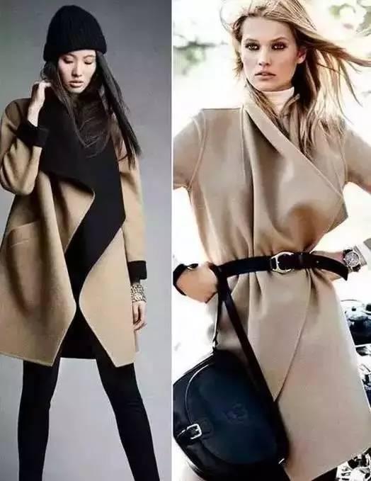 """时髦的双面呢大衣为什么这么贵!?很多菇凉都不知道!!"""""""