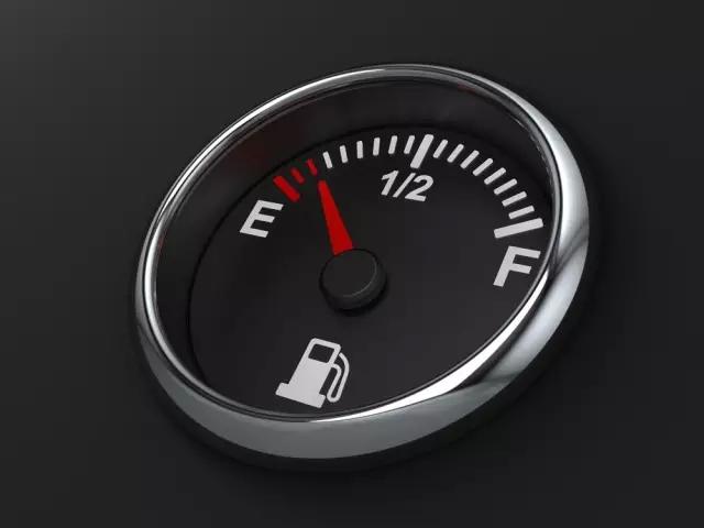 汽车油表上的这些是什么意思高清图片