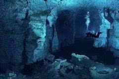 海底古城遗址,惊现外星人符号