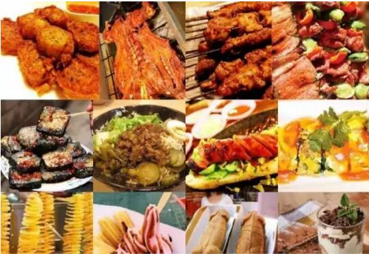 上的中国》里的三鲜豆皮   《食尚玩家》里的大肠包小肠   当一回主角
