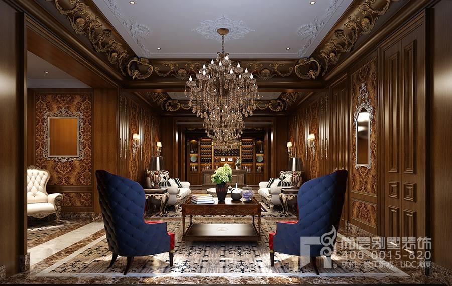"""杭州专业别墅室内设计—""""气质""""法式宫廷风格案例图片"""