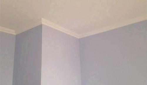家里吊顶不隔断用石膏线,大方又简约!背景电视墙怎么餐厅装修图片