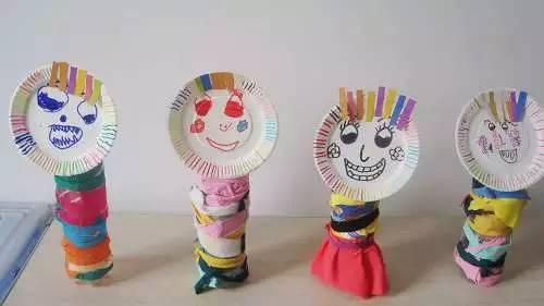 手工| 幼儿园手工制作,塑料瓶娃娃!