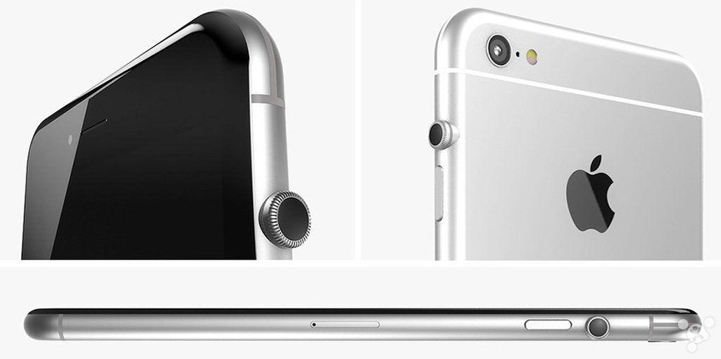 """苹果仍想给iPhone装个数码表冠 你怎么看?"""""""