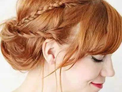 冬季中长发发型扎法图解_发型设计图片