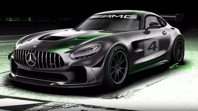 """奔驰在售最快的车,极速达318kmh,堪称绿色幽灵"""""""