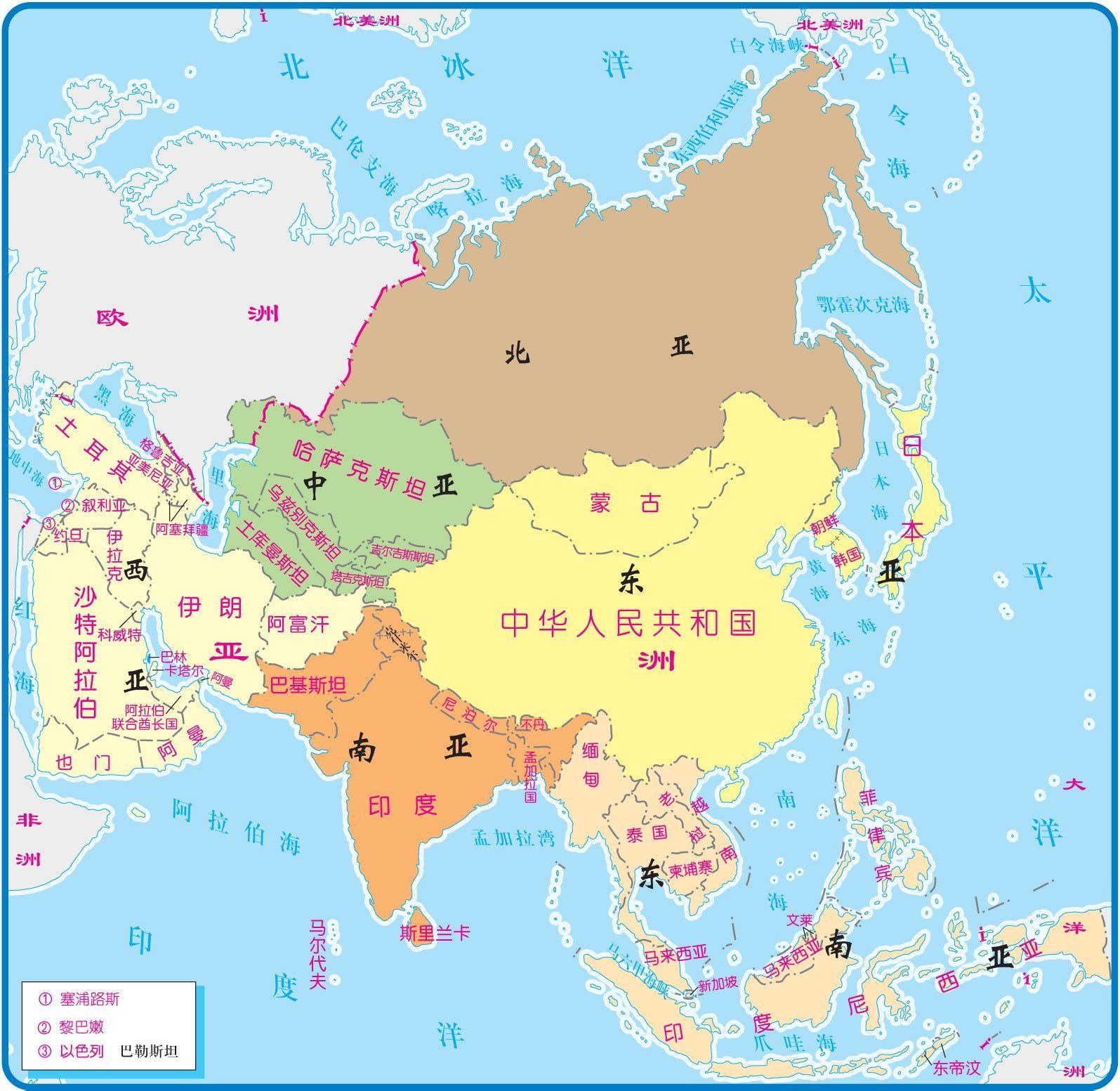 亚洲多少人口_为何蒙古国不属于汉字文化圈呢