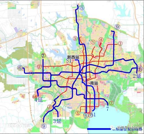 个城市建38条地铁线路,有没有你的家乡呢图片