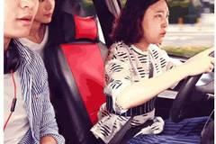 女司机是这样开车的,第一次很紧张!!