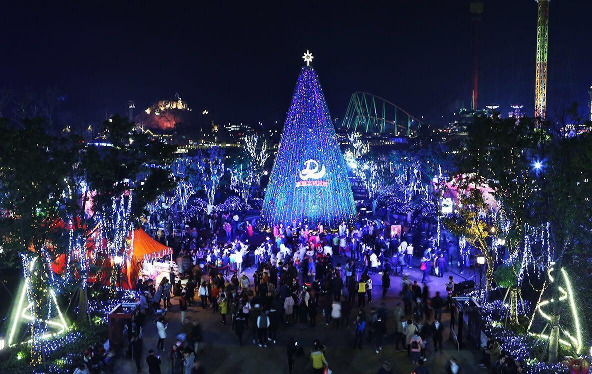 南昌万达乐园跨年夜邀全省千万网友共同狂欢迎新年图片