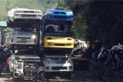 全亚洲最大的拆车厂,壮观,绝对是一个可以寻宝的地方!