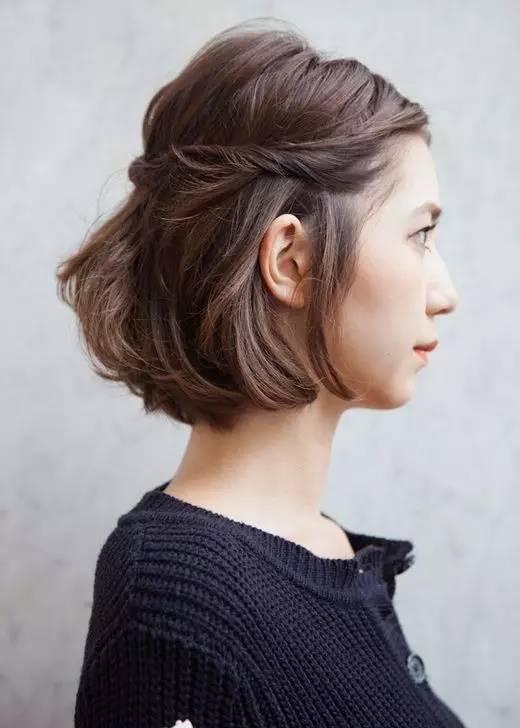 发型|短发越来越流行,如何然给你的短发与众不同呢?