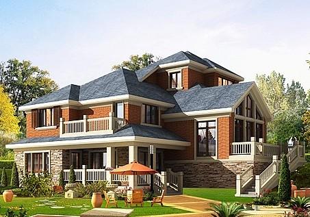 小别墅外墙砖效果图,让你装修高品质家居装修.别墅效果图小室内享受图片
