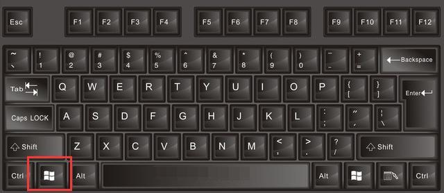 科普:认识键盘之win键的妙用图片