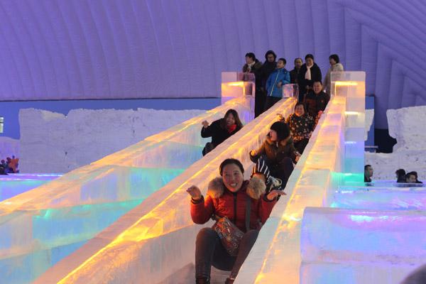 河北首届国际冰雪节涞源开幕 开启冬季旅游嘉年华图片