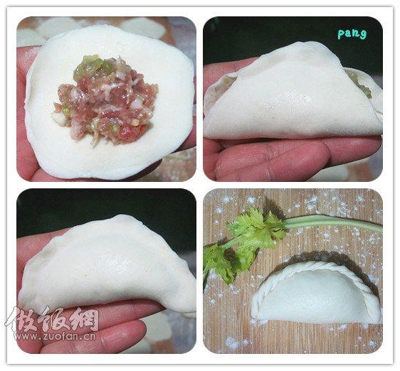 饺子的花样包法_如何包饺子