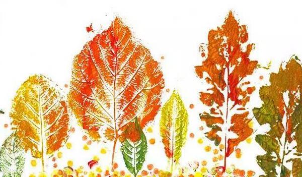 卡纸剪贴画图片大全-哇 秋天的落叶还能这么玩