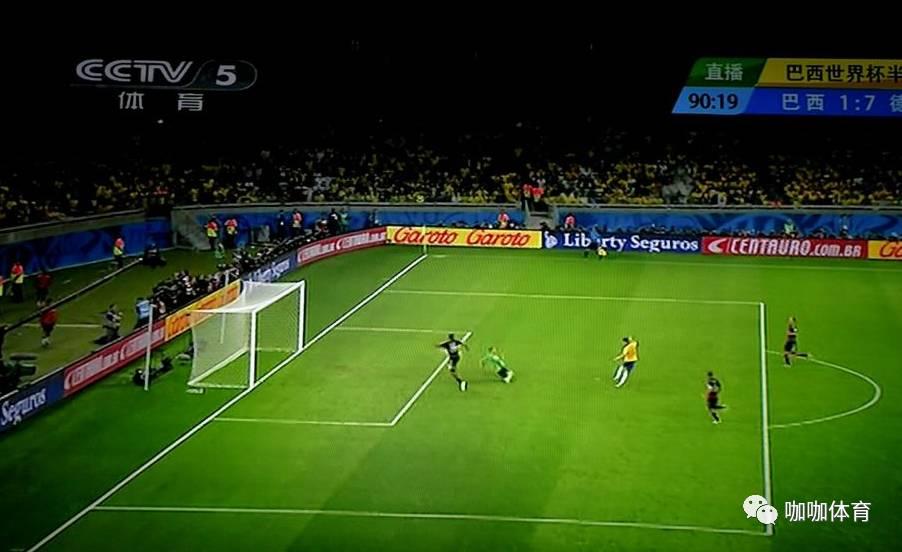 德国球员克罗斯在推特恶搞巴西比分