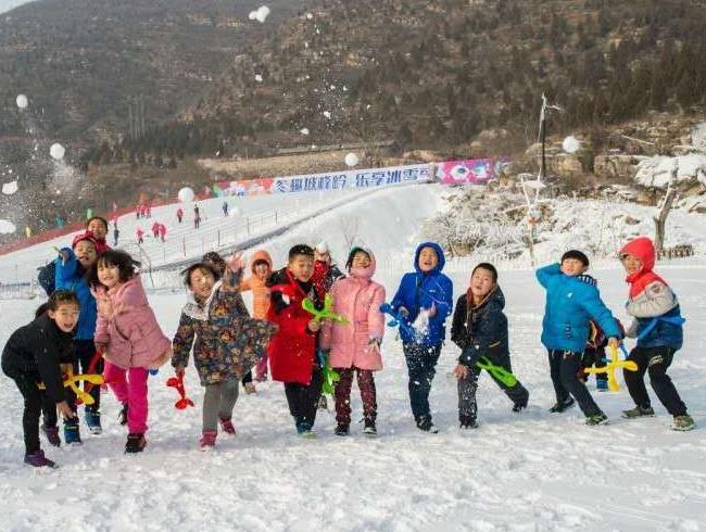 """冬趣坡峰岭 乐享冰雪季"""""""