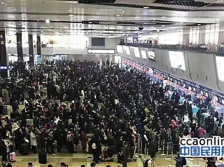 """哈尔滨机场2016年旅客吞吐量16267万人次"""""""