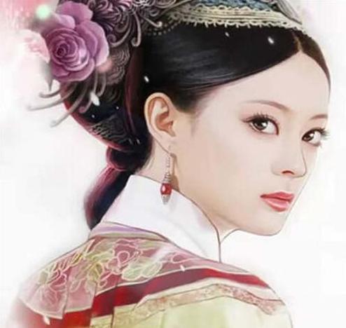 女星们的手绘画,郑爽,娜扎,赵丽颖,杨幂,真美