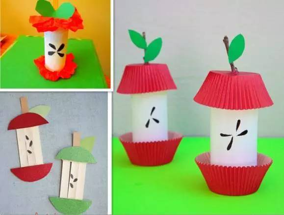各种各样的创意手工苹果制作,太棒了!