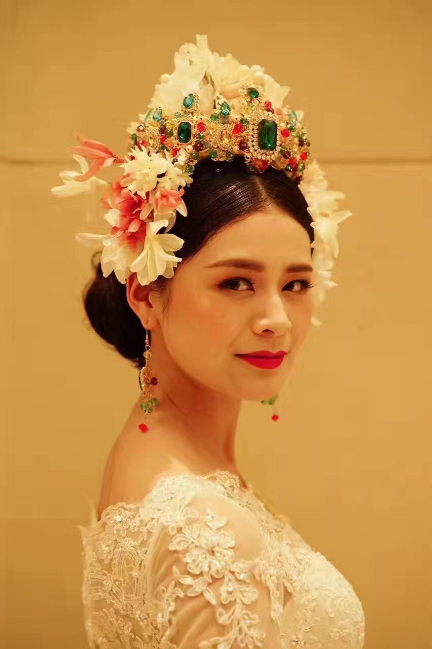 2016年中国发型化妆造型大赛作品展示.成都锦风美容美发培训学校图片