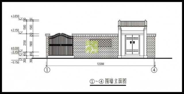 左立面图,右立面图,门窗表,楼梯平面图,1-1剖面图,节点详图; 结构施工