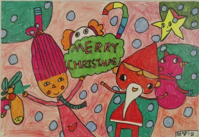 二年级张梦怡同学的作品《圣诞快乐》   二年级赵婕元同学的作品《绿色家园》   三年级张凯翔同学的作品《春天的故事》   一年级栗盖楠同学的作品《花朵》   二年级王艺涵同学的作品《绿色家园》   二年级薛名烜同学的作品《鸟》