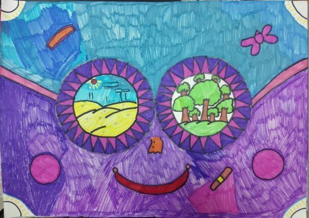 潍坊(上海)新纪元学校小学部开展绘画展示活动图片
