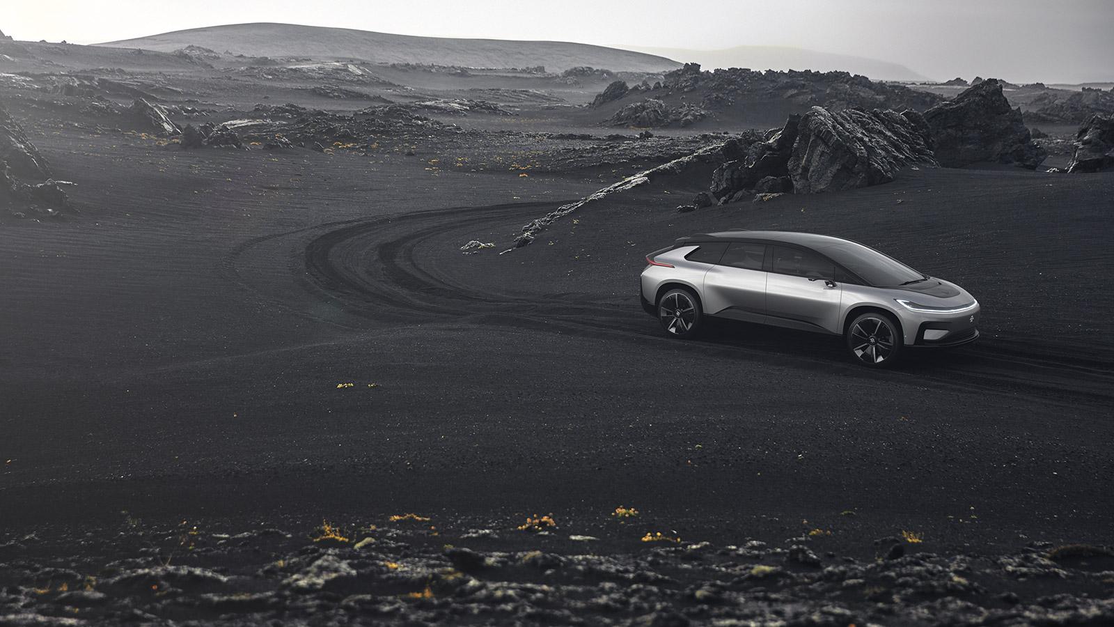 乐视汽车FF91发布,首批限量300台明年交车高清图片