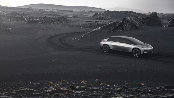 乐视汽车FF91 首批限量300台明年交车