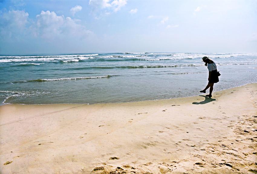 安直飞岘港 到世界最美六大海滩之一看美景美女 背包旅游 西安人气