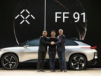 乐视FF91终于亮相 FF91发布 真能挽回投资人对乐视汽车的信心吗高清图片