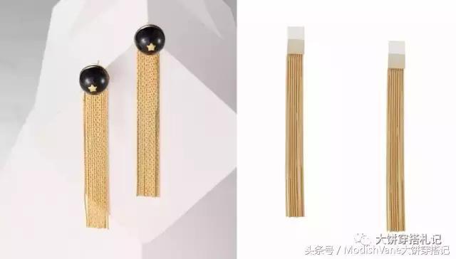 戴对几十块的适配耳环,只穿基础单品也能拉风又有型