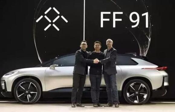 乐视发布超牛的FF91汽车,上市后还要送一辆高清图片