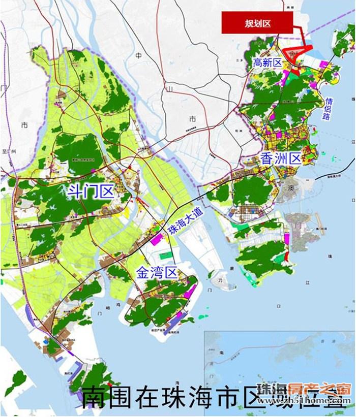 珠海高新区新增产业宜居地 完善规划可容纳3万人图片