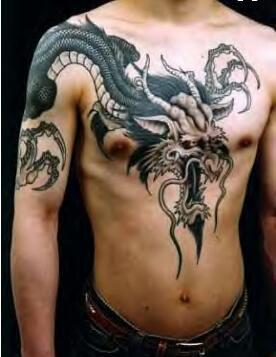 为什么这三种纹身只有一定地位的人才敢纹?图片