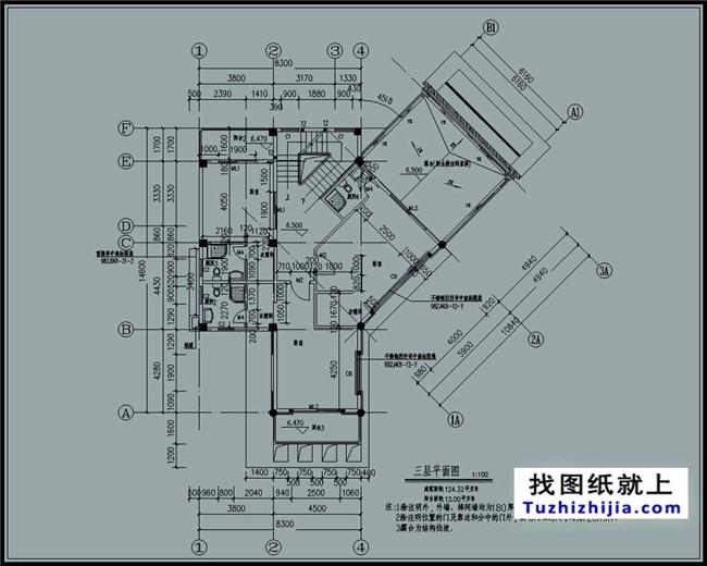 带地下车库现代三层别墅钢结构别墅设计图及效果图