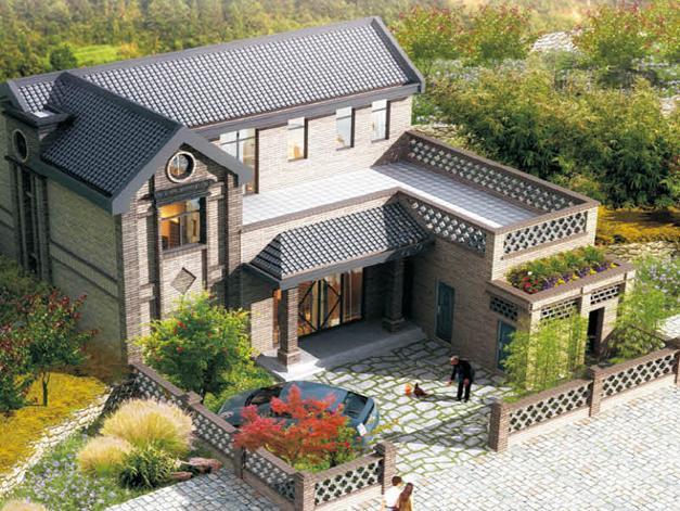 坡地方案 别墅利用自建房屋v坡地双拼精品案例吗算图片