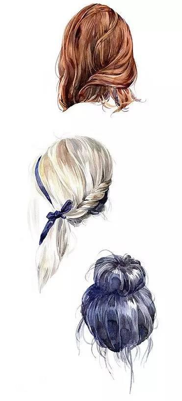 精致唯美手绘发型,绝对惊艳!