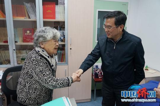 北京市侨办主任刘春锋一行慰问在京归侨侨眷