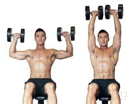 健身三角肌怎么练?三角肌锻炼方法图解