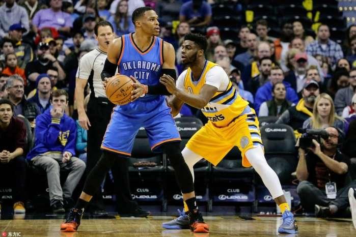 NBA:雷霆VS掘金视频直播